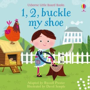 Little Board Books: 1, 2, Buckle My Shoe