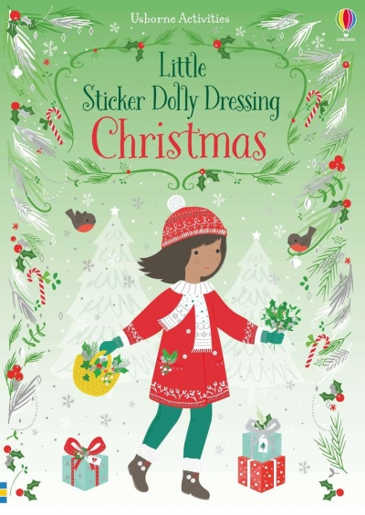 Little Sticker Dolly Dressing: Christmas
