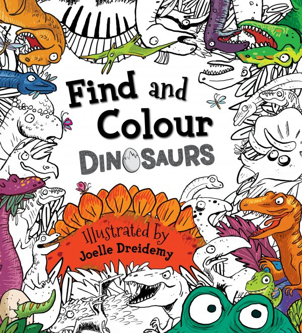 Find and Colour: Dinosaurs