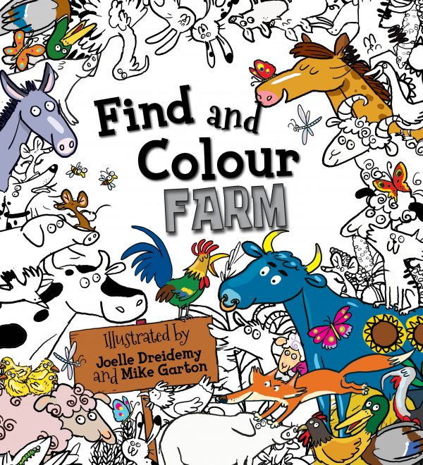 Find and Colour: Farm