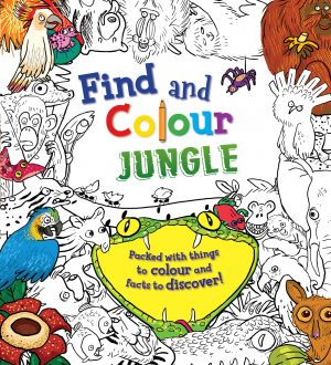 Find and Colour: Jungle