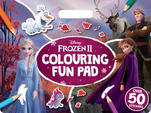 Disney Frozen 2: Giant Colour Me Pad