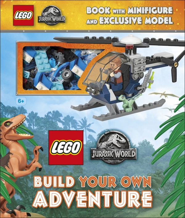 LEGO Jurassic World Build Your Own Adventure with Minifigure