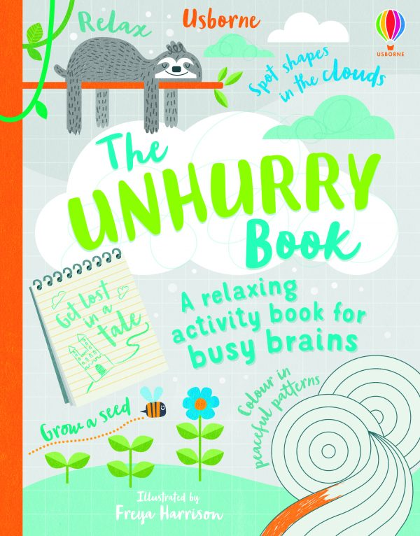 The Unhurry Book: A Relaxing Activity Book for Busy Brains