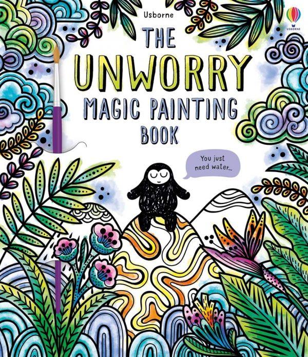 The Unworry Magic Painting Book